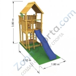 Комплект для сборки Jungle Gym Palace
