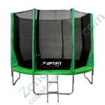 Батут OPTIFIT JUMP 10ft 3,05 м зеленый