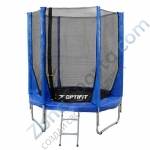 Батут OPTIFIT JUMP 8ft 2,44 м синий