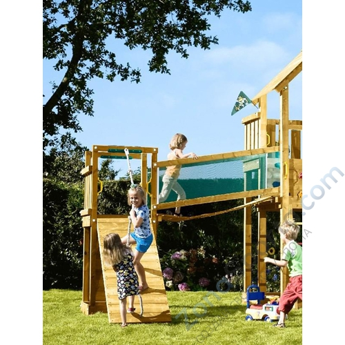 jungle gym chalet deluxe. Black Bedroom Furniture Sets. Home Design Ideas