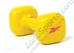 Гантель 3 кг Reebok Dumbbell Yellow  желтая (шт) RAWT-11053YL